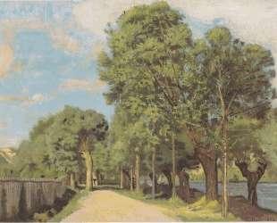 Landscape at the Jonction at Geneva — Фердинанд Ходлер