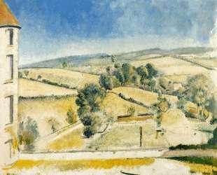 Landscape in Chassy — Бальтюс