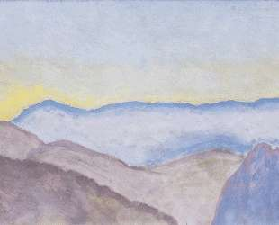 Landscape in Semmering with view of Rax — Коломан Мозер