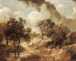 Landscape in Suffolk — Томас Гейнсборо