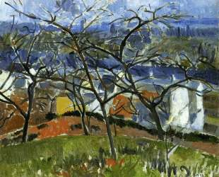 Landscape near Chatou — Андре Дерен