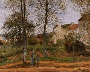 Landscape near Louveciennes 2 — Камиль Писсарро