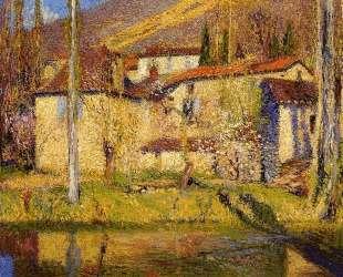 Landscape near Toulouse — Анри Мартен