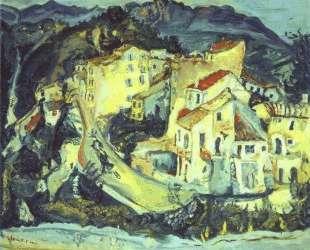 Landscape of Cagnes — Хаим Сутин