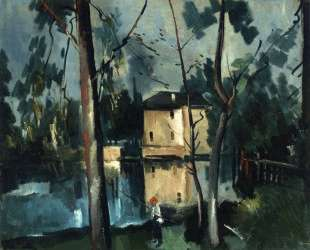 Landscape of La Creuse — Морис де Вламинк