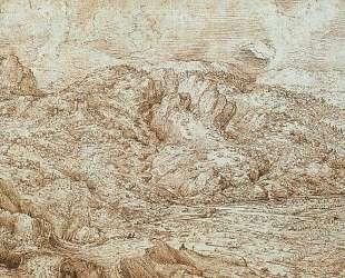 Пейзаж в Альпах — Питер Брейгель Старший
