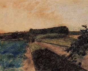 Пейзаж на Орн — Эдгар Дега