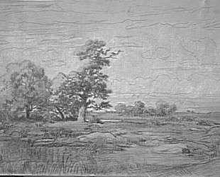 Landscape Sketch — Теодор Руссо