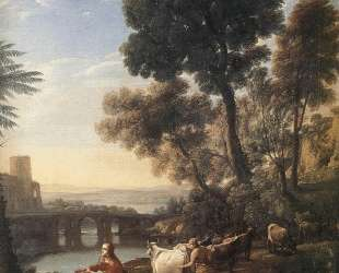 Landscape with Apollo Guarding the Herds of Admetus — Клод Лоррен