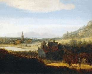 Landscape with Armed Men — Геркулес Сегерс