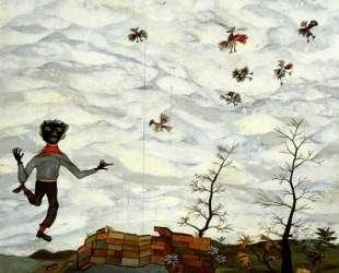 Пейзаж с птицами — Люсьен Фрейд