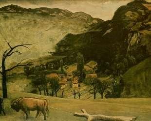 Landscape with Oxen — Бальтюс