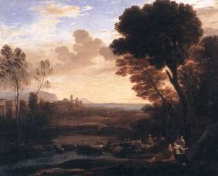 Landscape with Paris and Oenone — Клод Лоррен