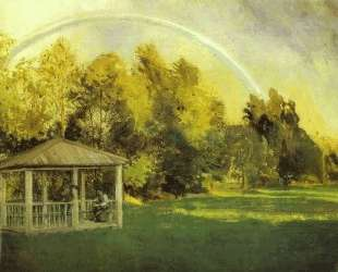 Landscape with Pavillion — Константин Сомов