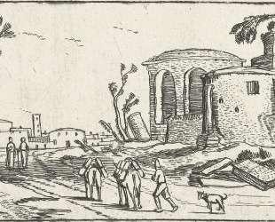 Landscape with Ruins — Эсайас ван де Вельде
