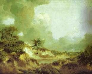 Landscape with Sandpit — Томас Гейнсборо