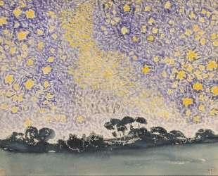 Landscape with Stars — Анри Эдмон Кросс