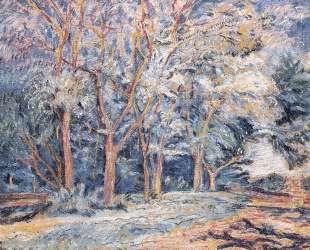 Пейзаж с деревьями — Давид Бурлюк