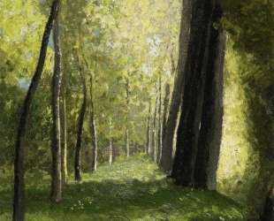 Lane of Trees — Одилон Редон