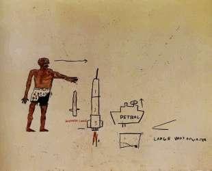 Большое тело воды — Жан-Мишель Баския