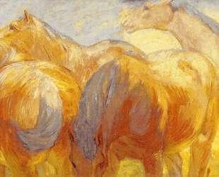 Large Lenggries Horses — Франц Марк