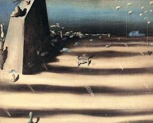 Большая картина с пейзажем — Ив Танги