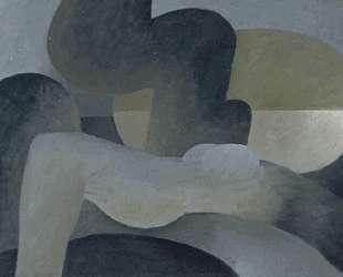Large reclining nude — Хуан Грис