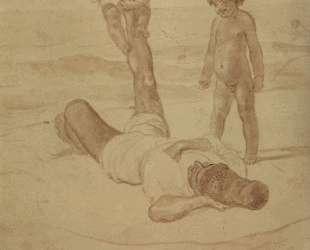 Лаццарони и дети — Карл Брюллов