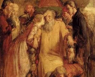 Lear And Cordelia — Джон Эверетт Милле