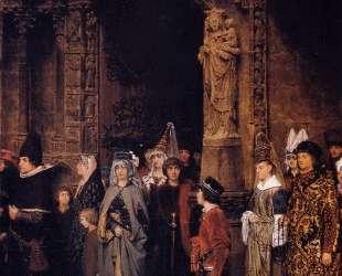 Церковная жизнь в 15 столетии — Лоуренс Альма-Тадема
