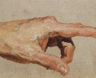 Кисть левой руки с вытянутым указательным пальцем — Василий Поленов