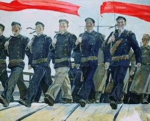 Левый марш — Александр Дейнека