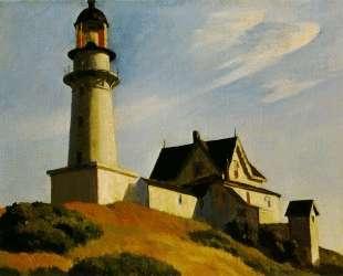 Lighthouse at Two Lights — Эдвард Хоппер