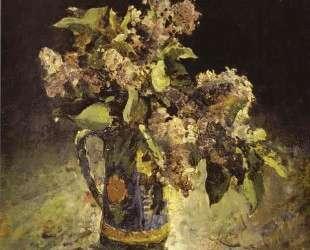 Сирень в вазе — Валентин Серов