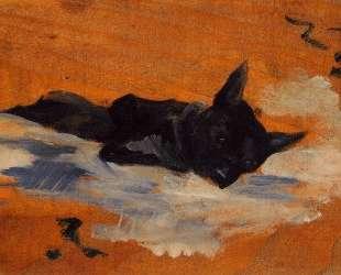 LIttle Dog — Анри де Тулуз-Лотрек