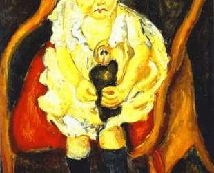 Little Girl with Doll — Хаим Сутин