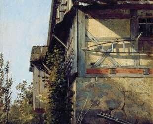 Домик в Дюссельдорфе — Иван Шишкин