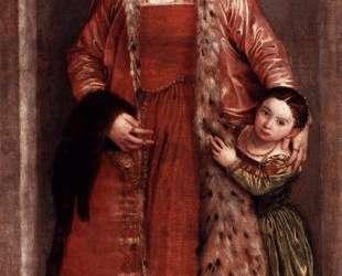 Livia da Porto Thiene and her Daughter Porzia — Паоло Веронезе