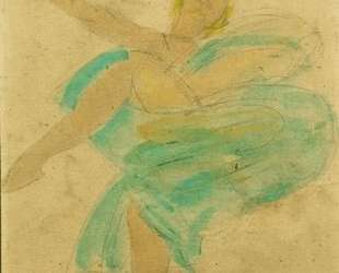 Loie Fuller — Огюст Роден