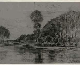 Красивое дерево на берегу Гейна — Пит Мондриан