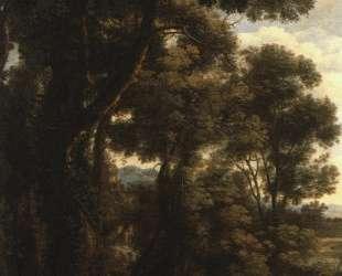 Lorrain Landscape with Goatherd — Клод Лоррен