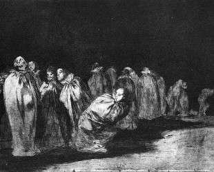 The bagged — Франсиско де Гойя