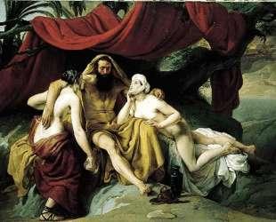 Lot and His Daughters — Франческо Хайес