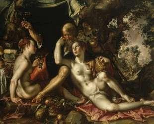 Lot and his Daughters — Йоахим Эйтевал