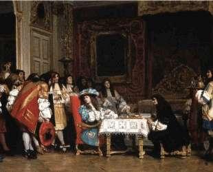 Louis XIV and Moliere — Жан-Леон Жером