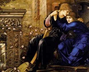 Любовь среди руин — Эдвард Бёрн-Джонс