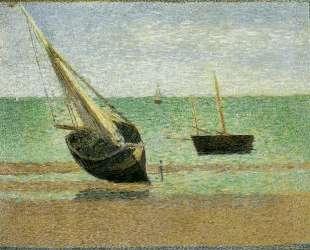 Отлив в Гранкане — Жорж Сёра