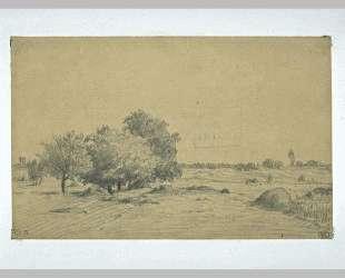 Lowland landscape — Теодор Руссо