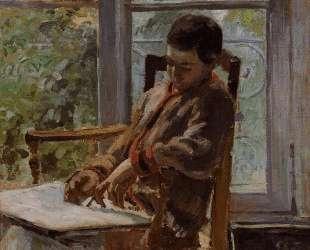 Lucien Pissarro in an Interior — Камиль Писсарро