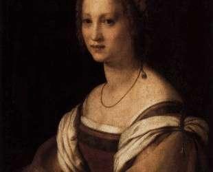 Lucrezia di Baccio del Fede, the Artist's Wife — Андреа дель Сарто